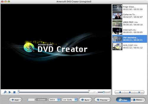 how to make a dvd loop mac