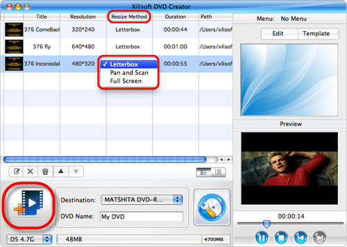 Flip video to DVD Creator for Mac